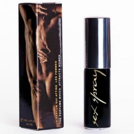 Perfume com Feromonas Sex Spray 15 ml - Homem