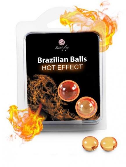 Brazilian Balls Hot - Efeito Calor