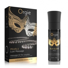 Kit Orgie Pearls Lust Massage 30 ml