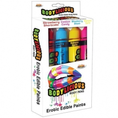 Bodylicious Body Pens - 4 Sabores