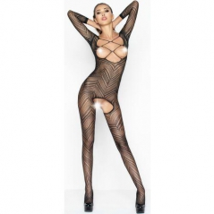 Catsuit Passion Erotic Line BS040 Preto