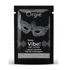 Orgie Sexy Vibe! Vibrador Liquido High Voltage - Saqueta 2 ml