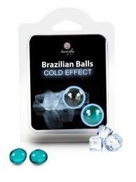 Brazilian Balls Cold - Efeito Frio