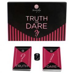 Jogo Secret Play Truth Or Dare - Verdade ou Consequência