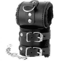 Algemas Darkness Wide Black Handcuffs