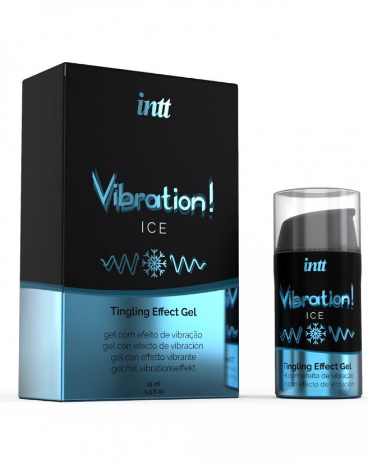 Vibrador Liquido Intt Vibration! Ice 15 ml