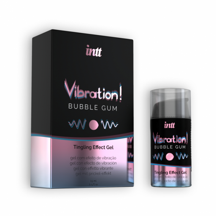 Vibrador Liquido Intt Vibration! Bubble Gum 15 ml