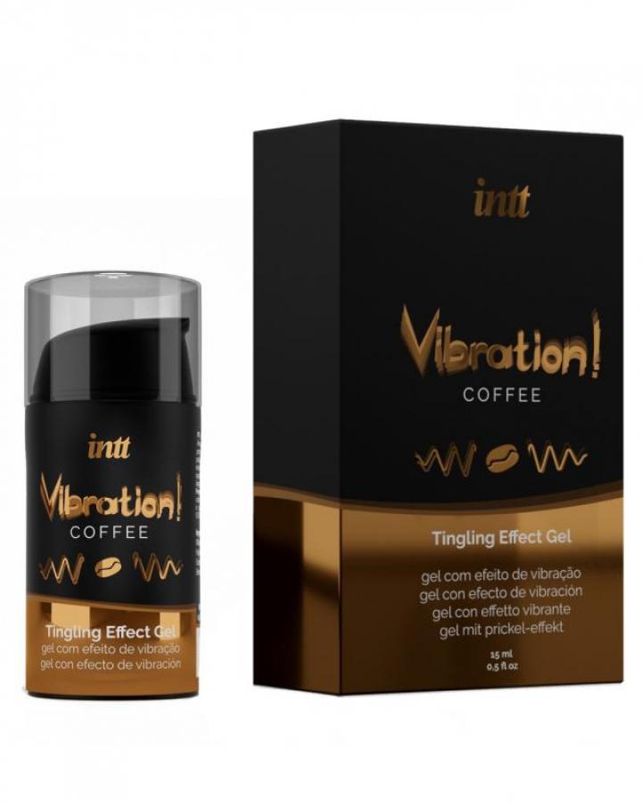 Vibrador Liquido Intt Vibration! Café 15 ml