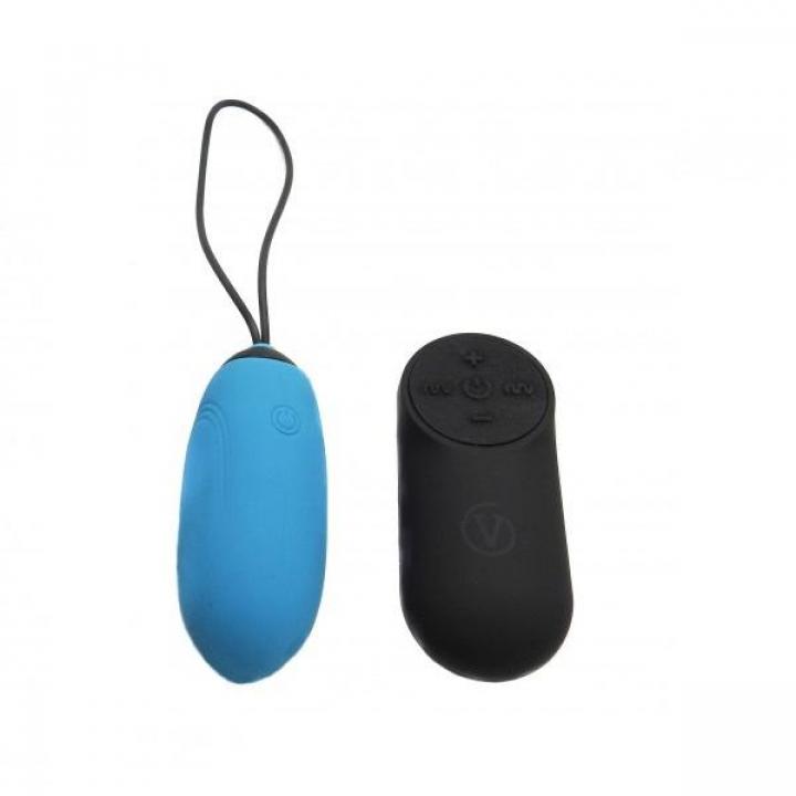 Ovo Vibratório Recarregavel Virgite G3 Azul