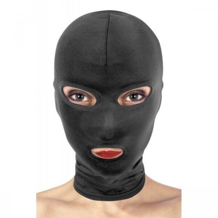 Máscara de Submissão Fetish Tentation - 3 Aberturas