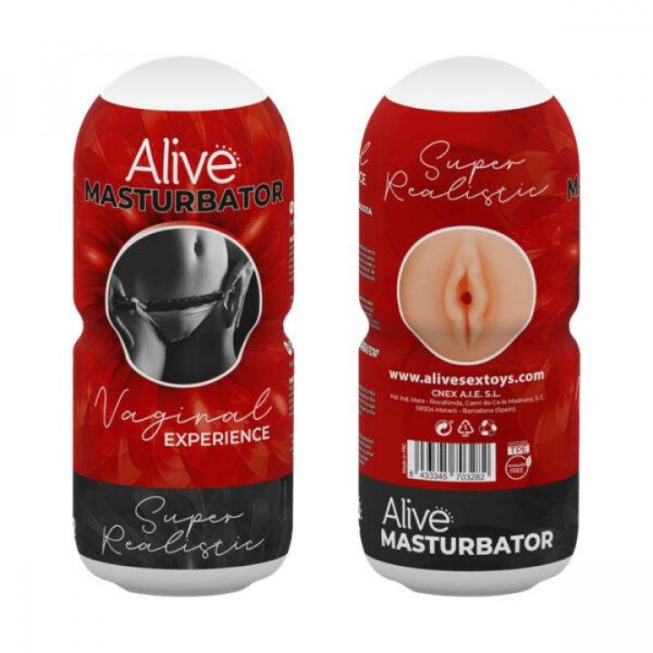 Masturbador Alive Vaginal Experience