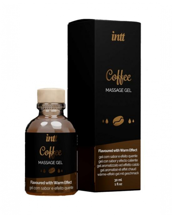 Intt Coffee - Gel Massagem Com Sabor e Efeito Quente 30ml